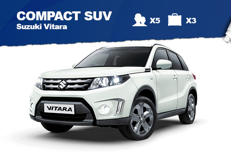 Compact SUV – from $45/day