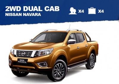 2WD Dual Cab – from $70/day