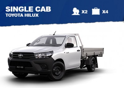 2WD Single Cab – from $65/day